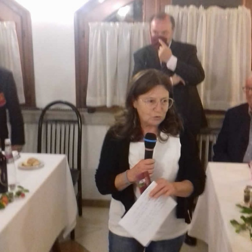Cena con la rassa dea Madona del Rosario