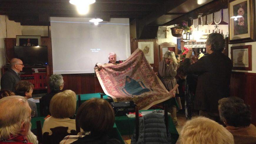 Conferenza sui tappeti antichi